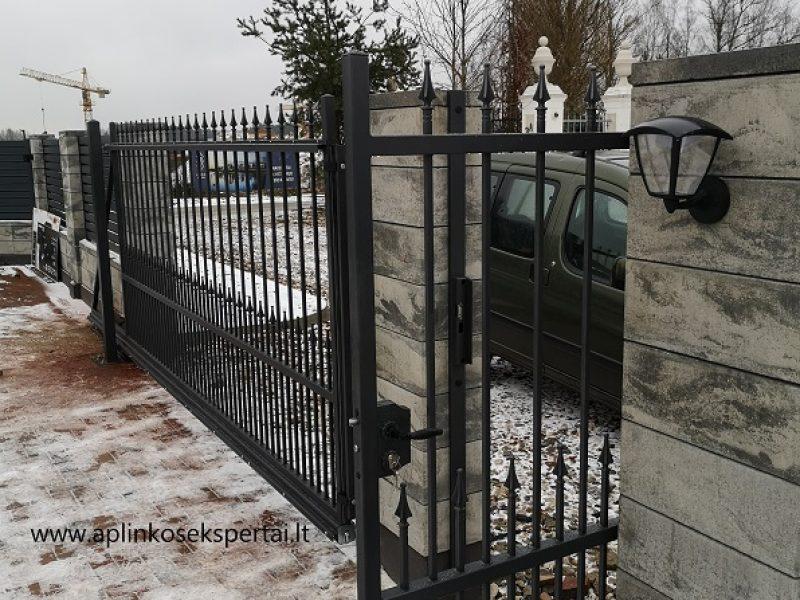 tvora ir vartai metaliniai str